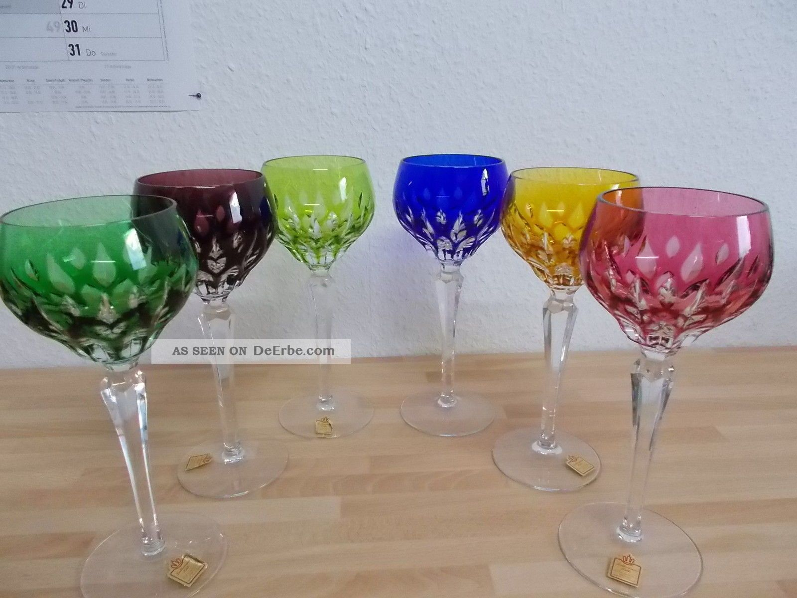 Römergläser glas kristall kristall gläser antiquitäten