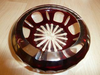 Kristall - Aschenbecher Bild