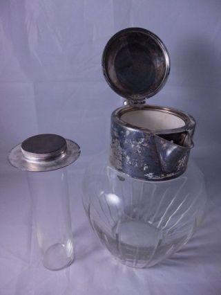 glas kristall kristall karaffen antiquit ten. Black Bedroom Furniture Sets. Home Design Ideas