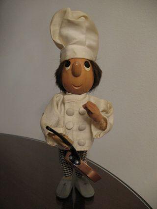 Casy Boys Sammlerpuppe Küchenuniform Mit Pfanne Sammeln Selten Rar Unikat Bild