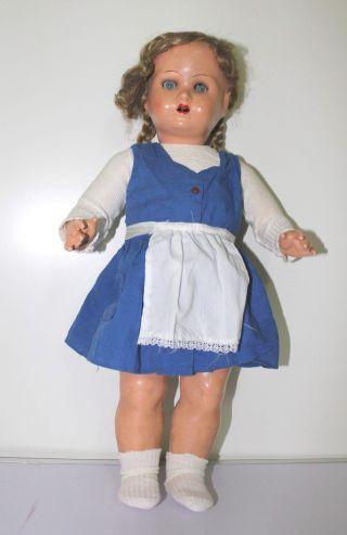 Antike Puppe Gemarkt Sor Oder Son Oder Sur Ca 49 Cm Groß Bild