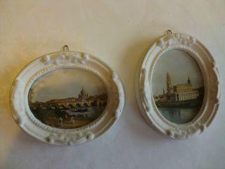 2 Wandbilder Oval Bild