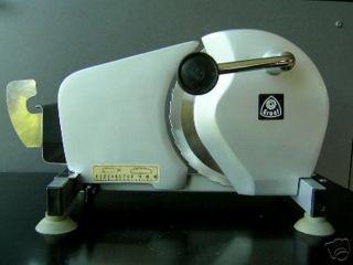 Brotschneidemaschine Handkurbel Greaf Edelstahl Bild