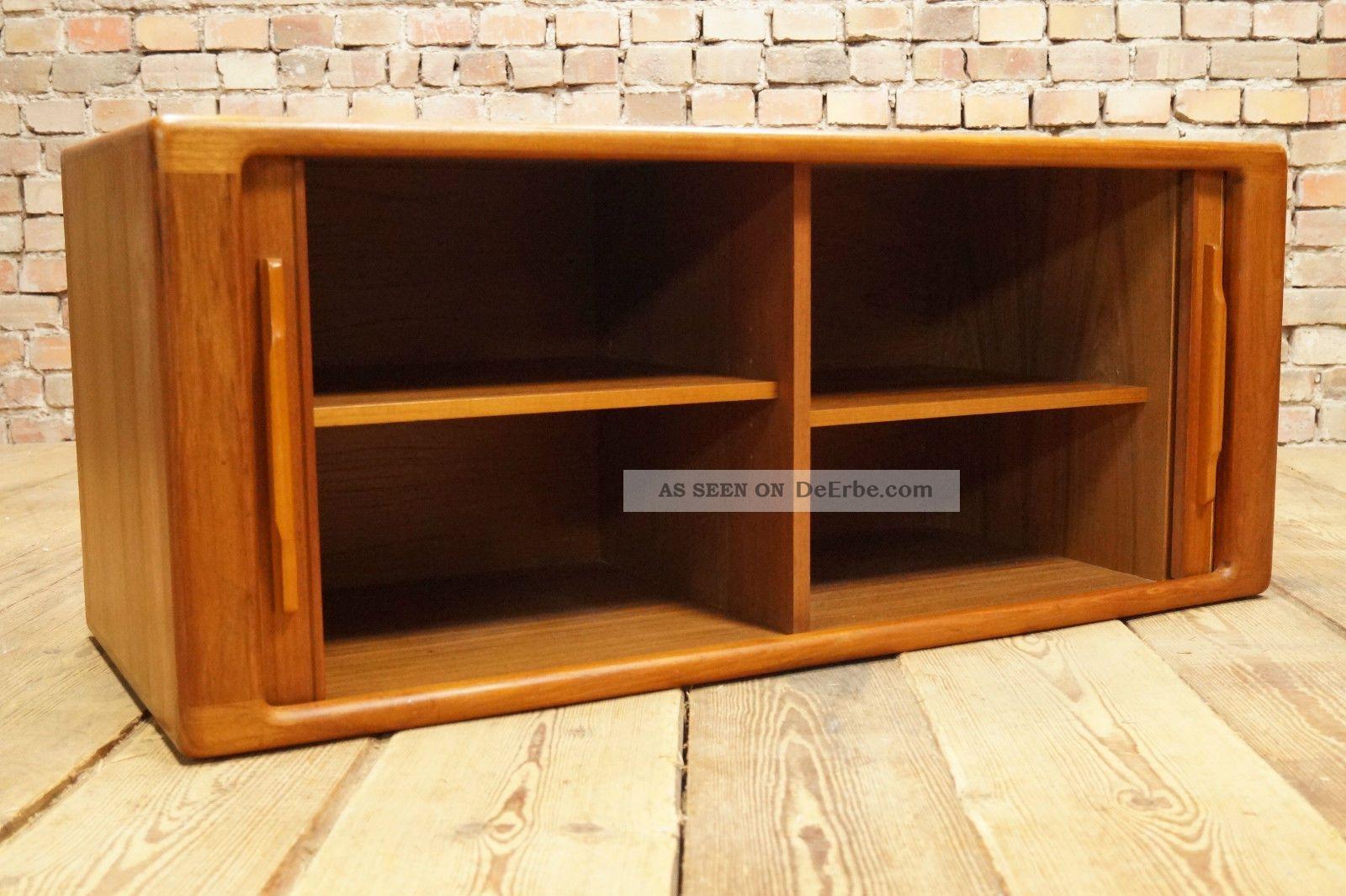 Dyrlund Danish Credenza : 60er teak sideboard anrichte kommode credenza cabinet danish modern