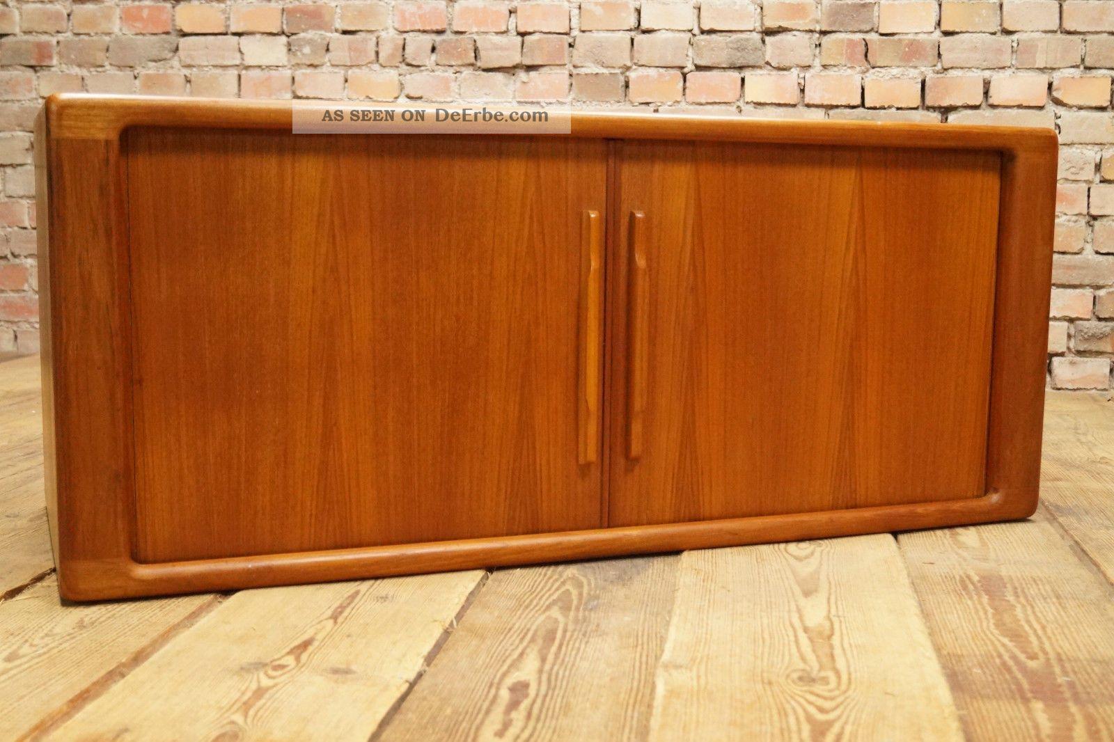 60er teak sideboard anrichte kommode credenza cabinet for Anrichte teak