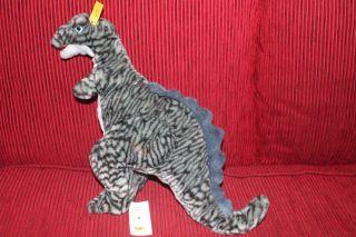 1 Steiff Germany Knopf Im Ohr Cosy Tyro Tyrannosaurus Raubtiere Bild