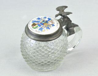 Glas kristall antiquit ten for Glaspokal deko