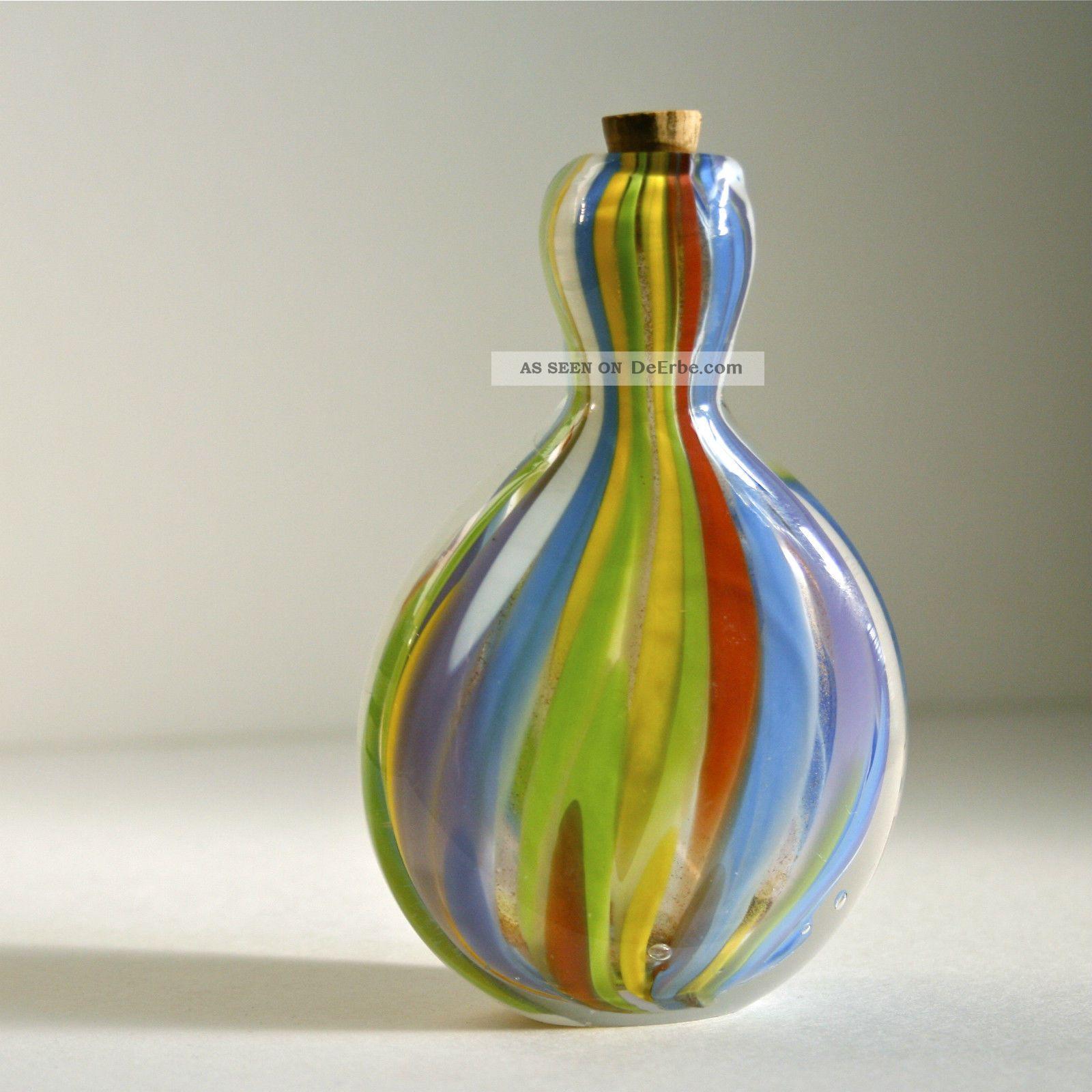 Glas Schnupftabakflasche • Tabakdose • Snuff Bottle • 19 Jh • Biedermeier Antike Originale vor 1945 Bild