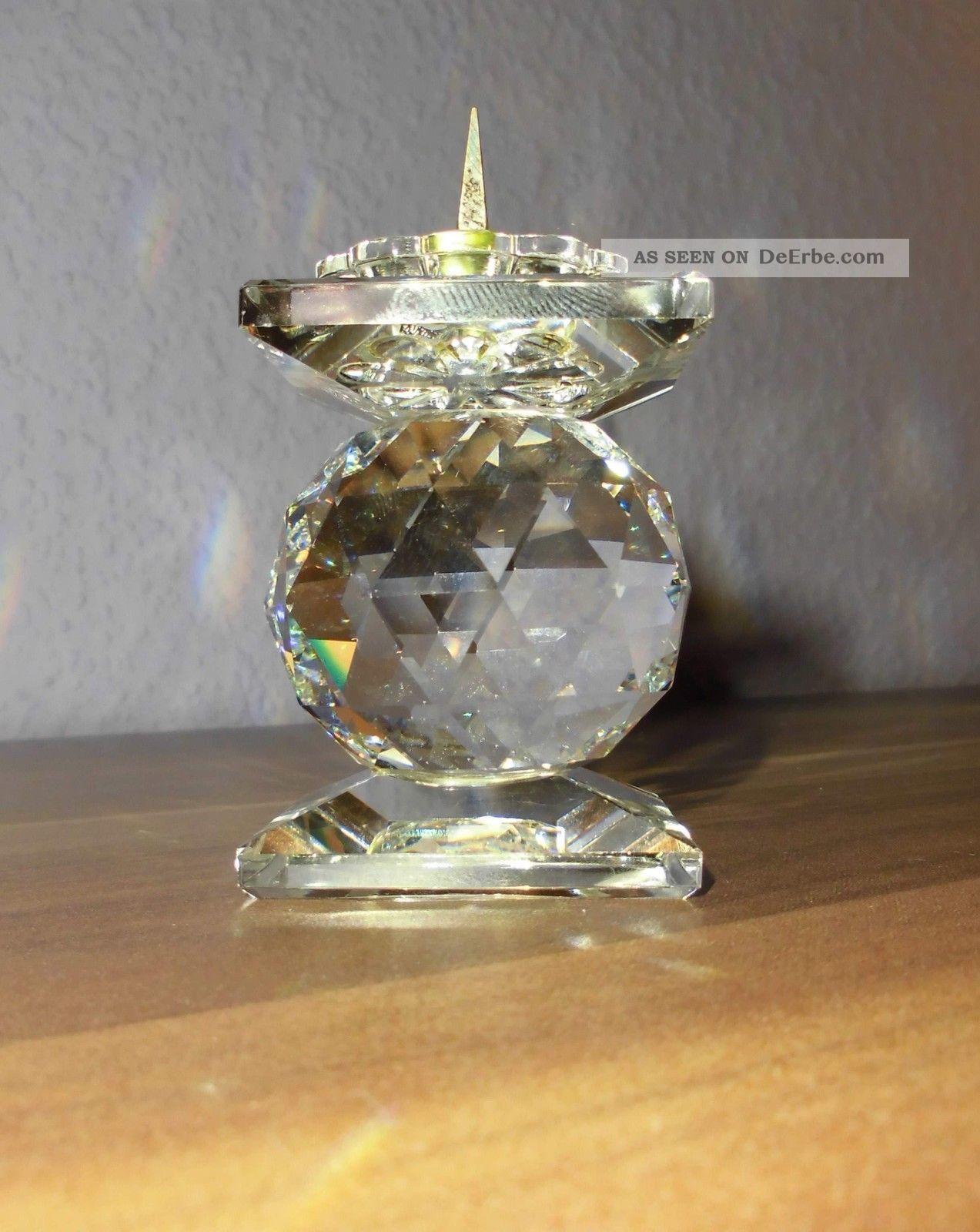 Kerzenständer,  Swarovski Figur Kristall Bild