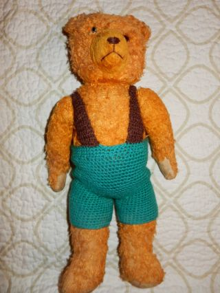 Schöner Alter Teddybär - Wahrscheinlich Buckelbär/bespielter Zustand/40cm Bild