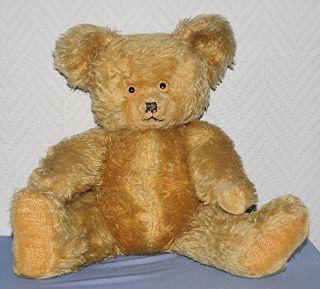 Dachbodenfund,  Alter Diem Teddy Ca.  40 Cm Goldfaben Bär Bild