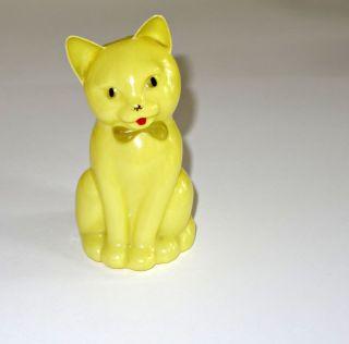 Gelbes Kätzchen Aus Plastik,  1953 Bild