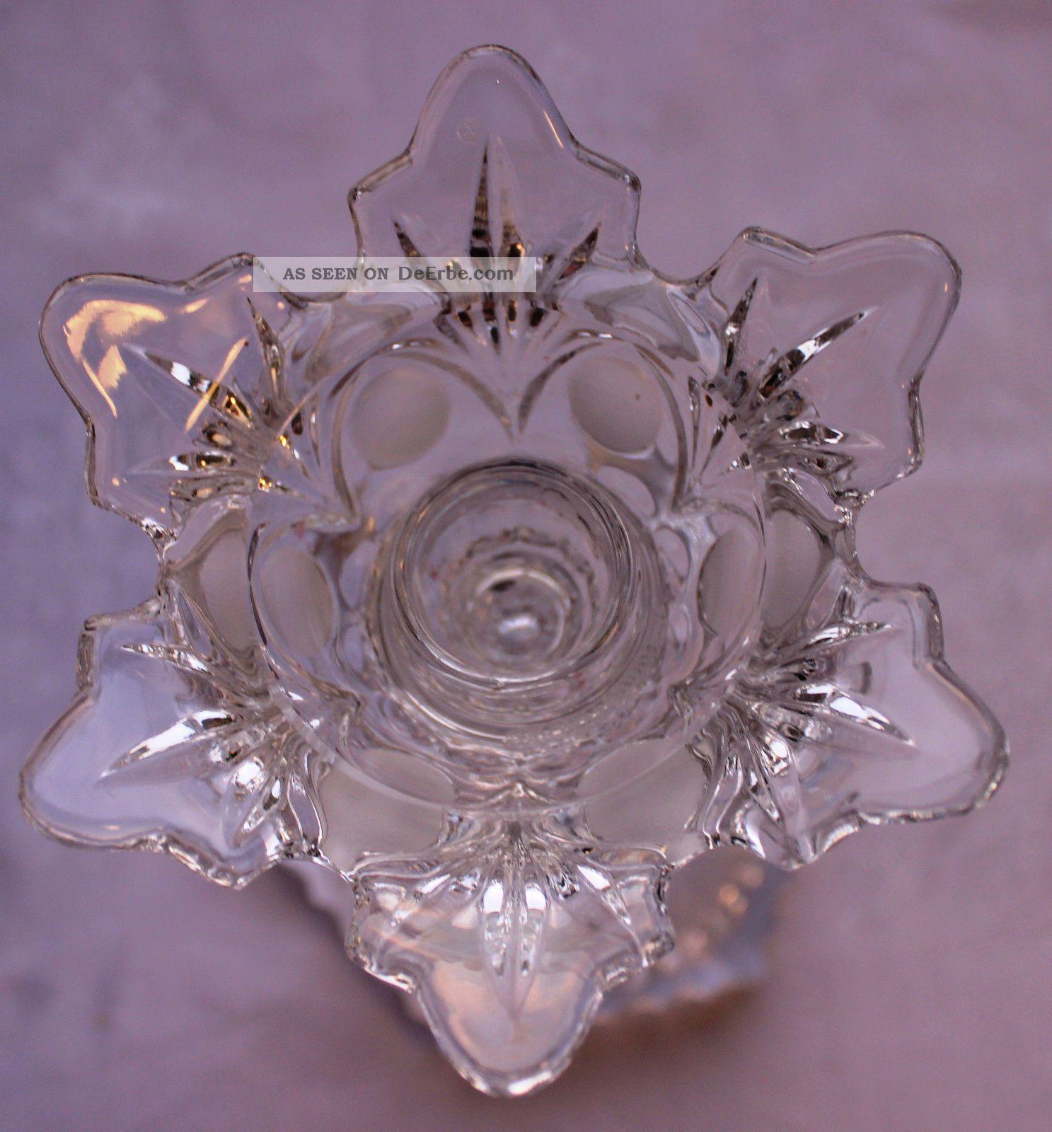 Kerzenständer Bleikristall _ Kristall Kerzenständer_kerzenständer 17,  5 Cm Hoch Kristall Bild