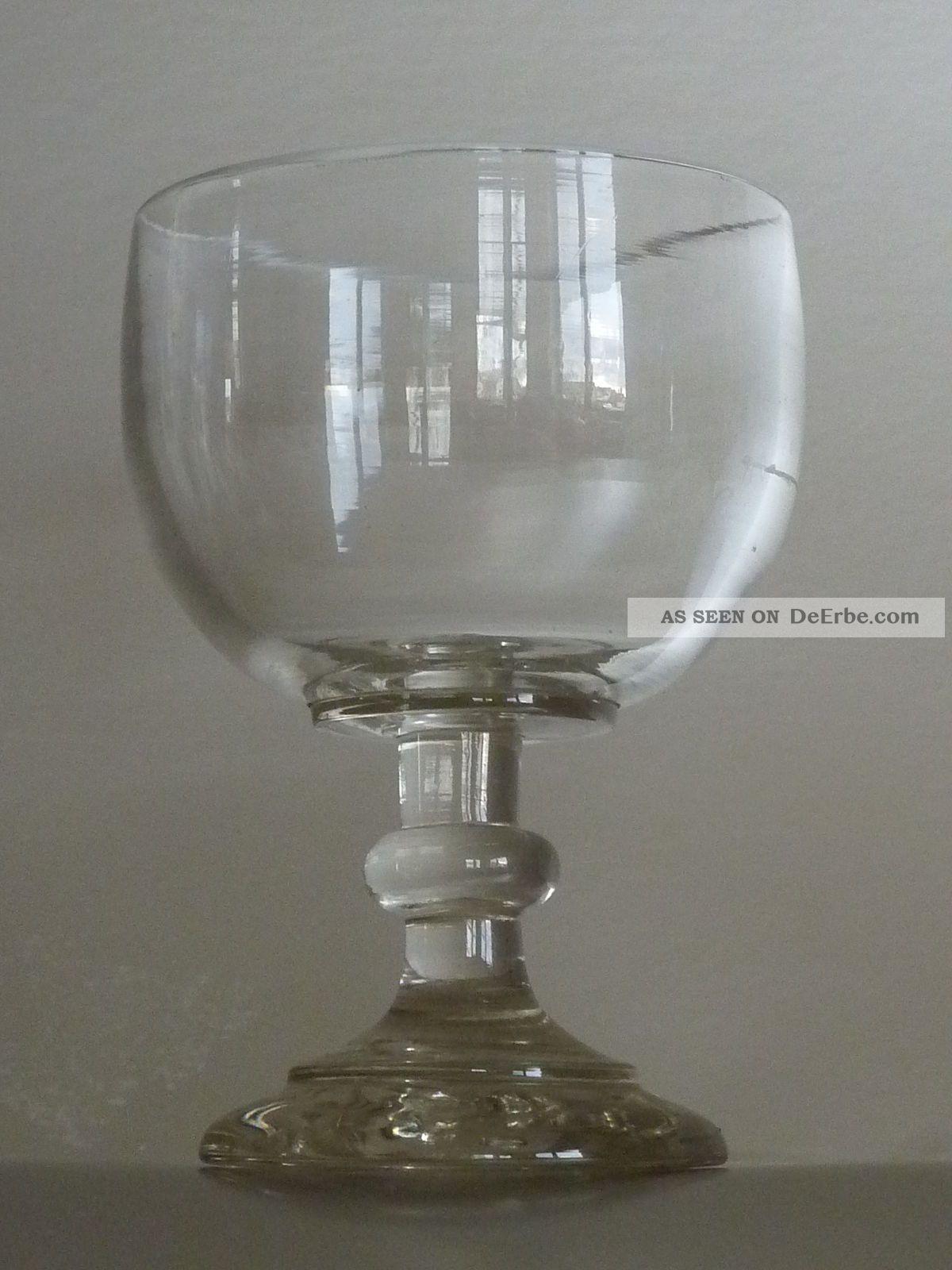 berliner weisse glas antik um 1900 geeicht ge tzt wei er emaillerand 1 a. Black Bedroom Furniture Sets. Home Design Ideas