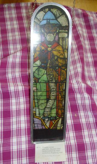 Schönes Fensterbild Prophet Jonas Keine Versandkosten Bild