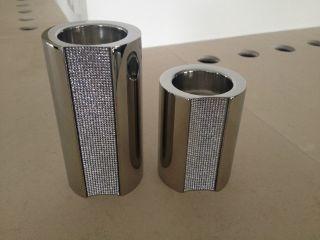 Swarovski Ambiray Kerzenhalter/ Teelichthalter 2 Stück 1x Mittel,  1 X Groß Bild