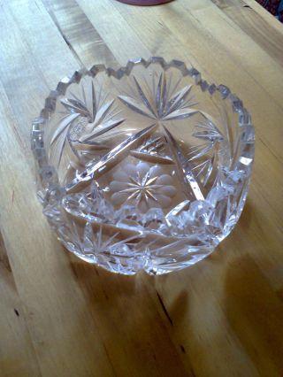 Oma ' S Bleikristallschälchen Bild