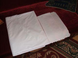 Weißwäsche Bettwäsche Kuvertbezug,  2 Kissenbezüge Paradebezug Bild