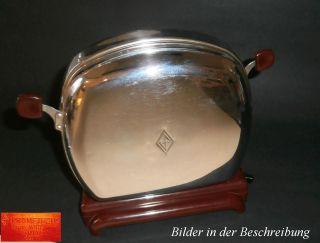 Antik Prometheus Toaster Silber Funktionstüchtig Klassiker Bild