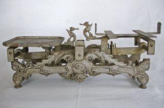 Alte Waage Küchenwaage Balkenwaage Gusseisen Guss Bis 5 Kg Jugendstil Antik Bild