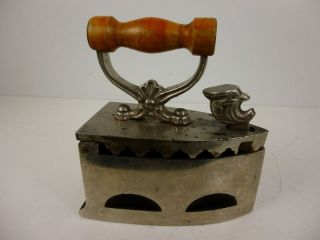 Miniatur - Kohle - Bügeleisen Um 1880 Für Kragen/manschetten (25 - 12) Bild