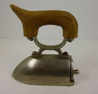 Miniatur - Bügeleisen Um 1890 Für Kragen/manschetten  (24 - 12) Bild