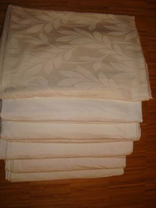 Wäschepaket,  Bettwäsche,  Bettbezug,  Weiß,  Verschiedene Muster Bild
