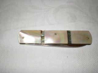 Taschenmesser Aus Perlmutt,  20 - Er Jahre. Bild