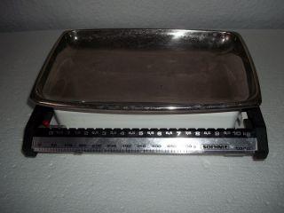 Söhnle Küchenwaage - 10 Kg.  Sehr Alt,  Funktioniert Bild