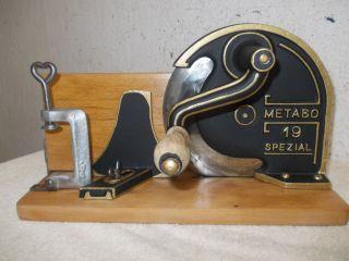 Metabo Brotschneider,  Brotschneidemaschine,  Brotmaschine,  Allesschneider Bild