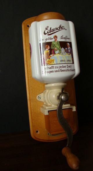 Eduscho Wandkaffeemühle,  Jubiläum,  35cm Bild