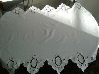 Schöne Tischdecke.  Läufer 80x125cm Bild