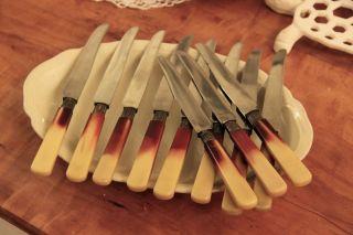 11 X Sehr Alte Messer Für Sammler Antik,  1118 Pradel Bild