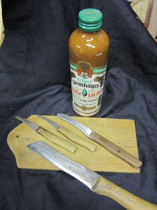 Alte Küchenmesser,  Solingen Bild