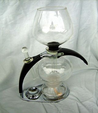 Cona Size B - Kaffeebereiter England 1976 - Kaffeemaschine - Coffee Maker - 70er Bild