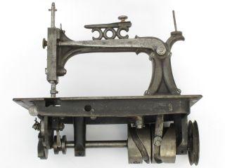 Uralte Nähmaschine,  Rare Sewing Machine A Coudre,  A.  B.  Howe,  Um 1865 Bild