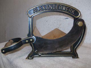 Alte Aufgearbeitete Alexanderwerk Brotmaschine,  Brotschneidemaschine,  Brotschneide Bild