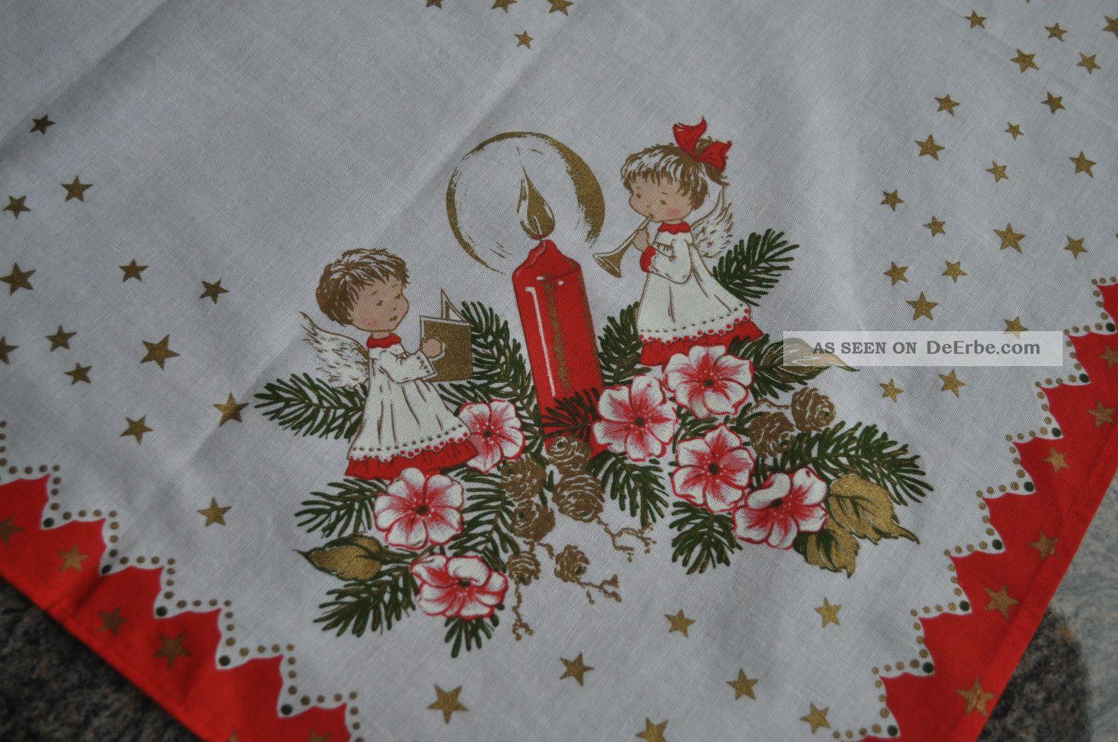 edle mitteldecke tischdecke weihnachten engel traum top. Black Bedroom Furniture Sets. Home Design Ideas