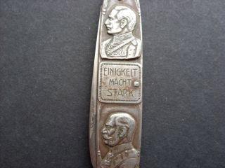 Taschenmesser Kaiser Wilhelm Eisernes Kreuz 1914 Rar Bild