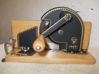 Alte Seltene Harras Brotschneidemaschine,  Brotschneider,  Brotmaschine Bild