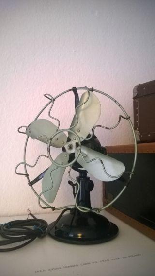 Antiker Großer Ventilator,  1936,  Alter Ventilator,  Marelli,  Vintage,  Retro Bild