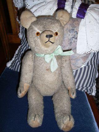 Antiker Alter Teddybär Mit Großen Ohren