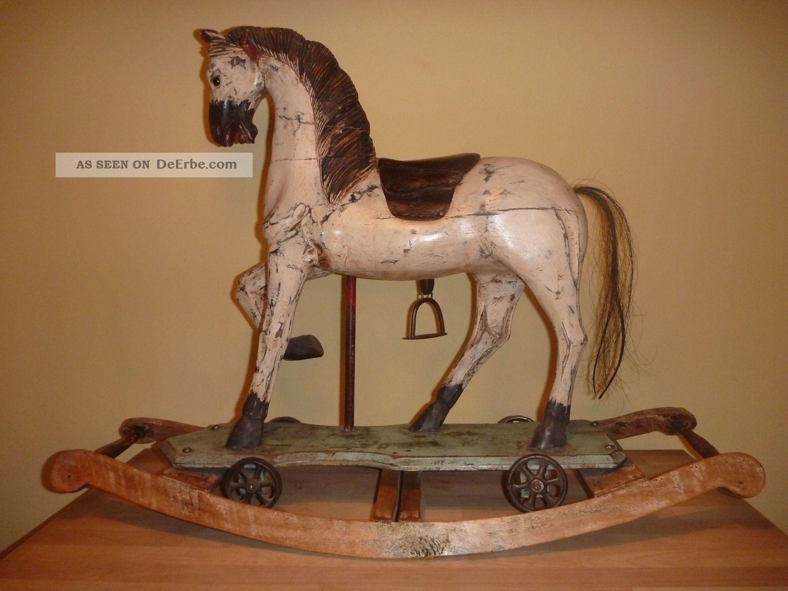 antikspielzeug - schaukelpferde - antiquitäten, Moderne