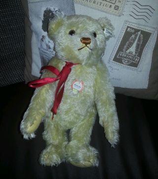 Steiff Teddybär Limitiert,  Musikbär,  Beige,  Knopf Im Ohr Bild