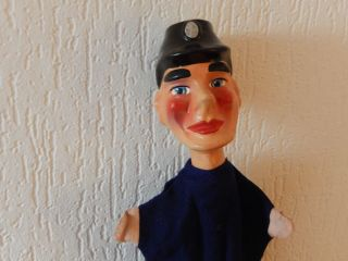 Hand - Puppe Kasperle Kasperpuppe Schutzmann Polizist Kaspertheater Masse - Kopf Bild