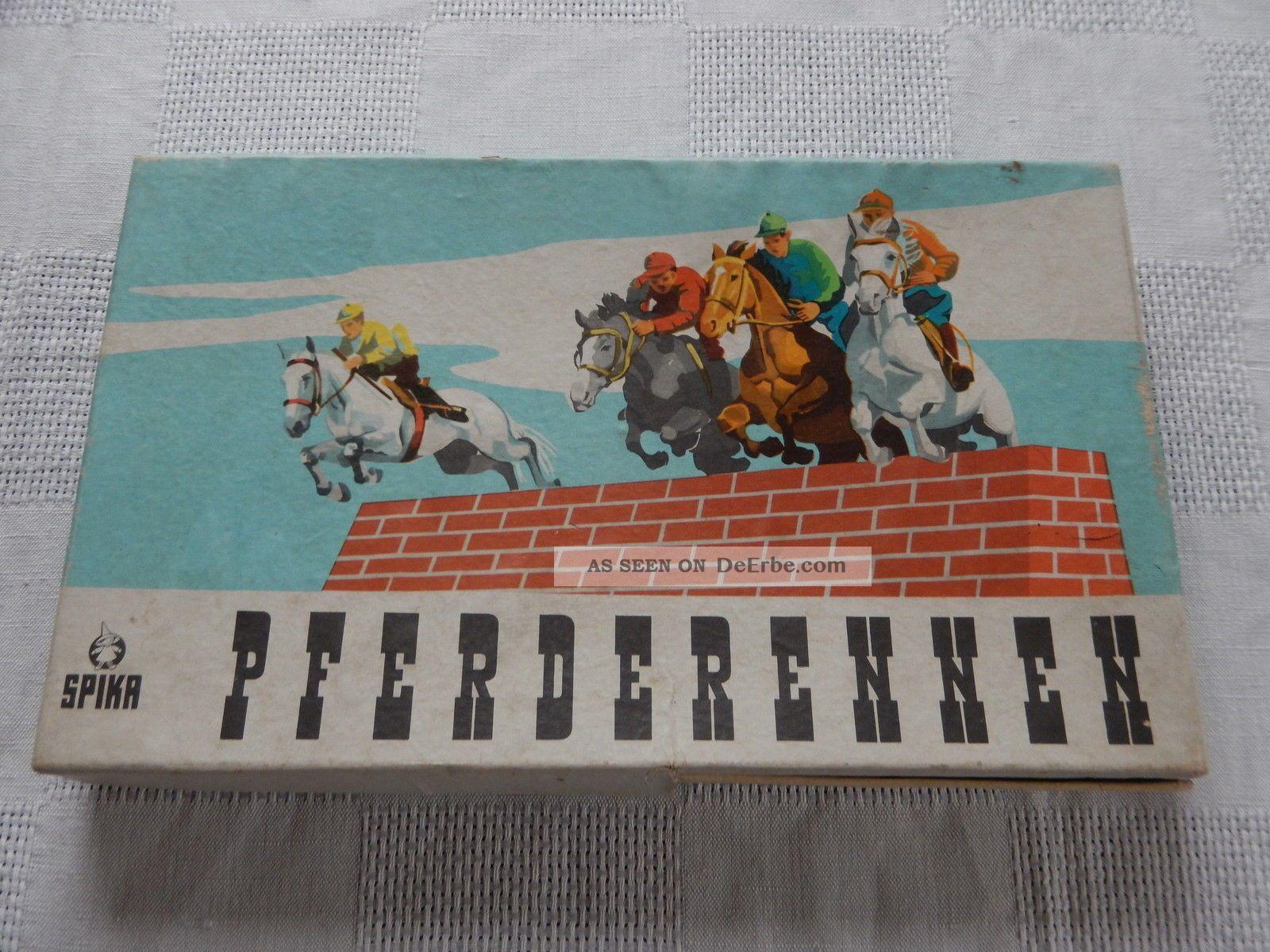 Antikspielzeug Gesellschaftsspiele Gefertigt Nach 1945 Brett