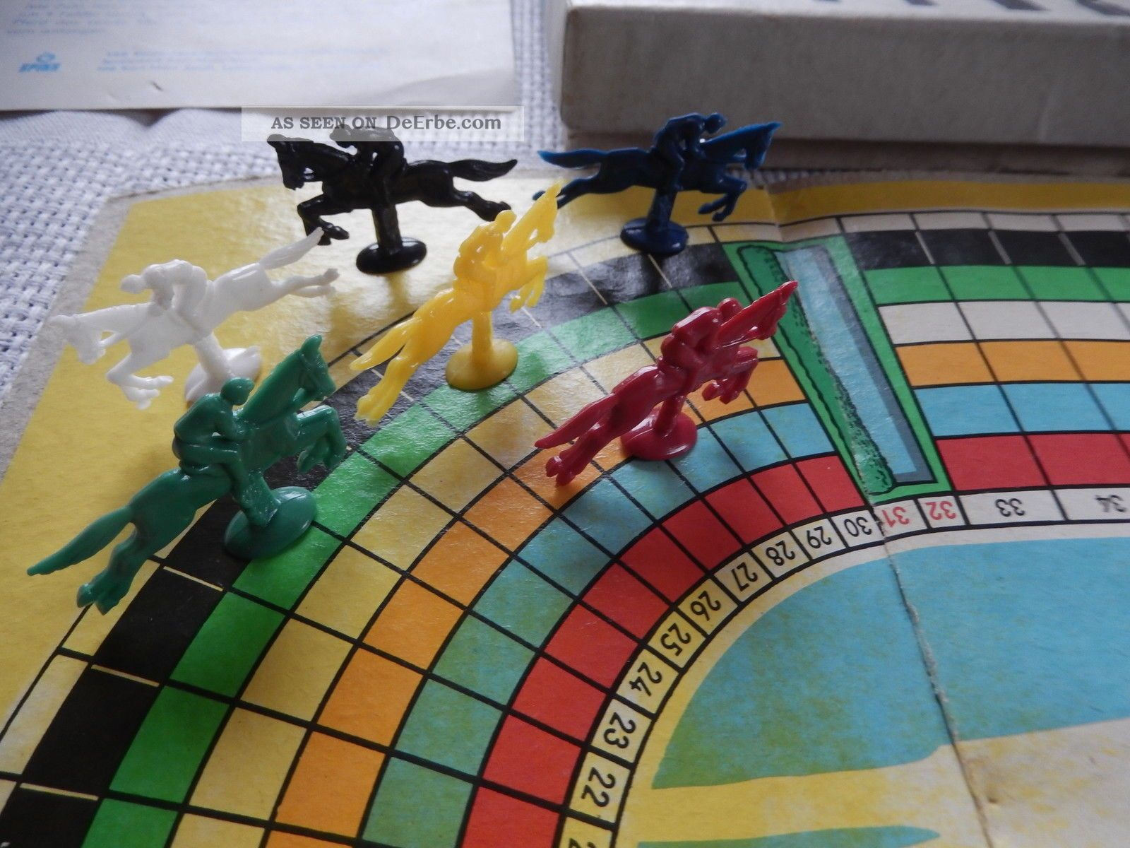 Pferderennen Brettspiel