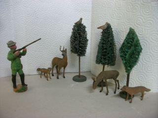 Masse Jäger Staubtiere Luffabäume Ca.  90 Jahre Alt Bild