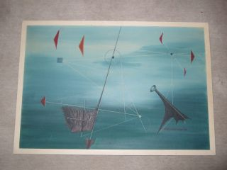 Wagenknecht 1964,  Informelle Kunst Ölgemälde Abstrakt Oil Painting Gemälde Bild