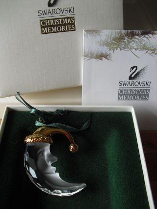 Swarovski Christmas Memories Moon/ Mond Und Beschreibung Bild